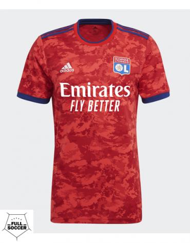 Maillot Adidas Olympique Lyonnais Extérieur 2021/2022